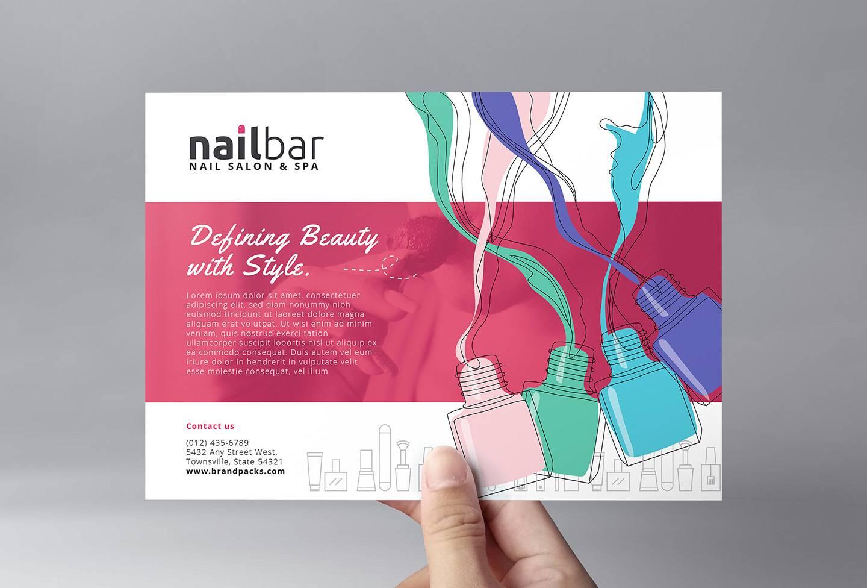 Nail Salon Flyer Templates Free
