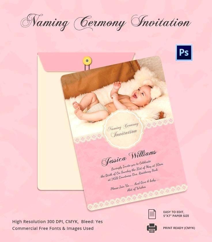 Naming Ceremony Invitation Cards Online Free