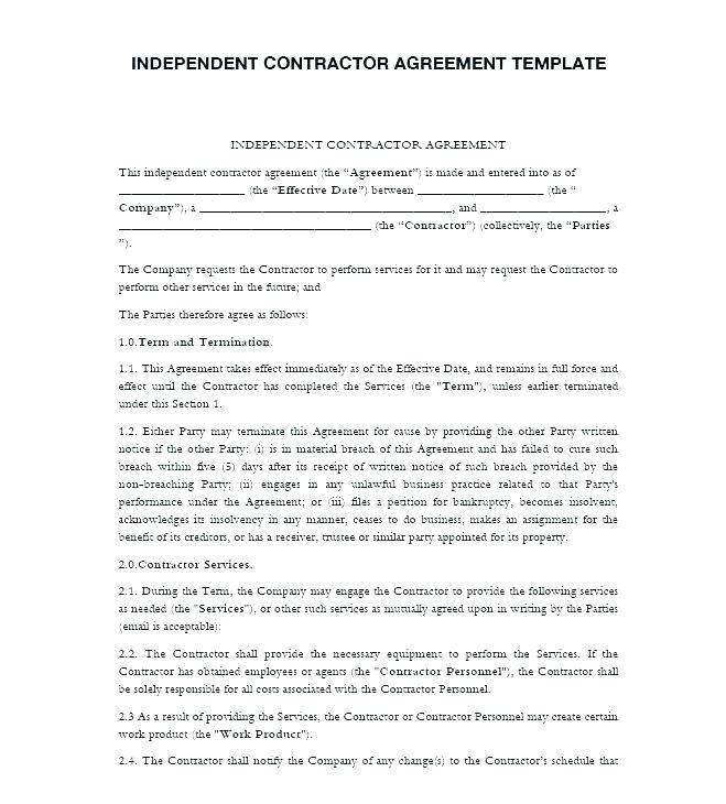 Nanny Employment Contract Template Uk