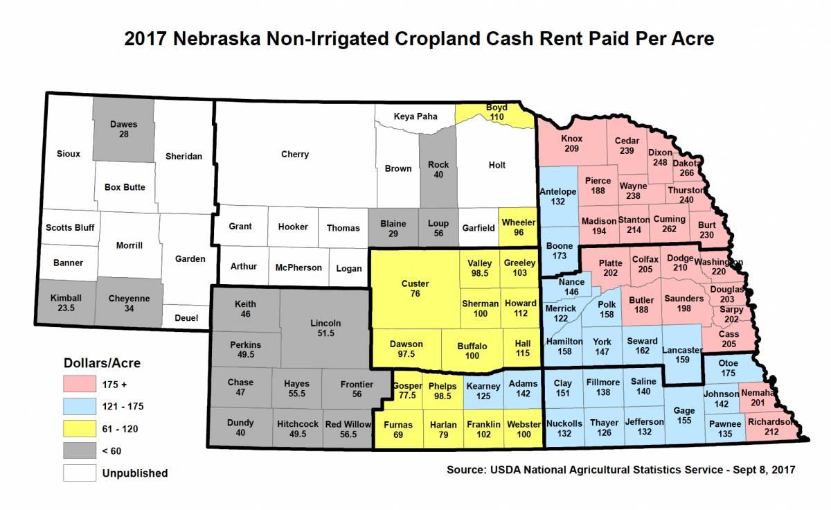 Nebraska Farm Lease Template