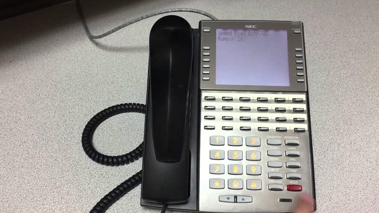 Nec Dsx Phone Label Template