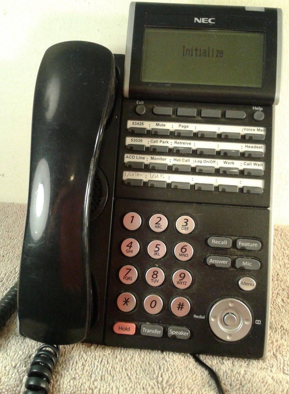Nec Sl1100 Phone Label Template