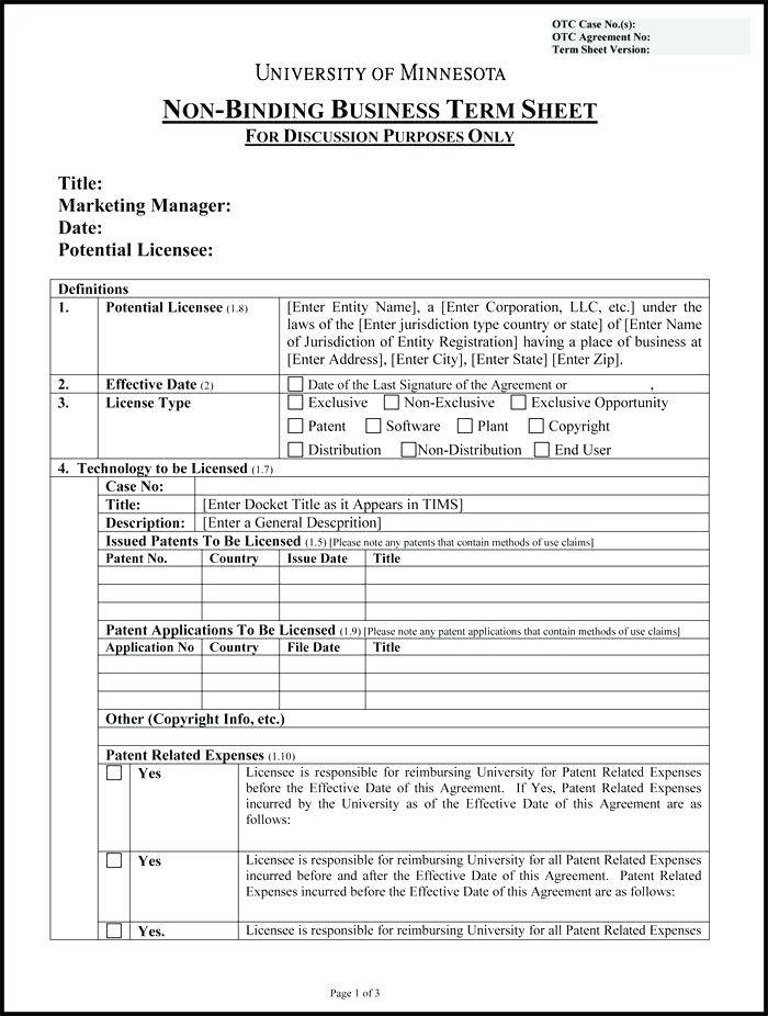 Negotiation Agreement Template