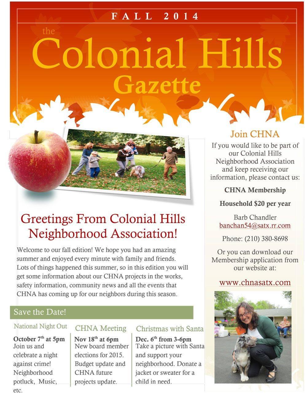 Neighborhood Newsletter Template