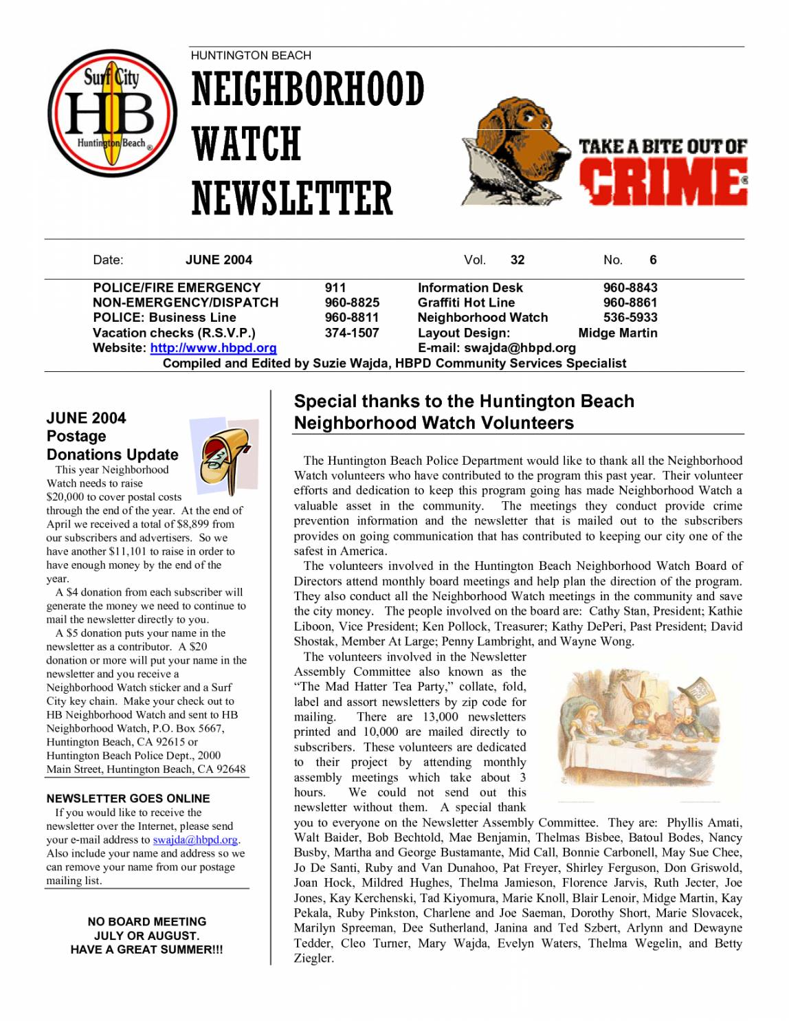 Neighborhood Newsletter Templates