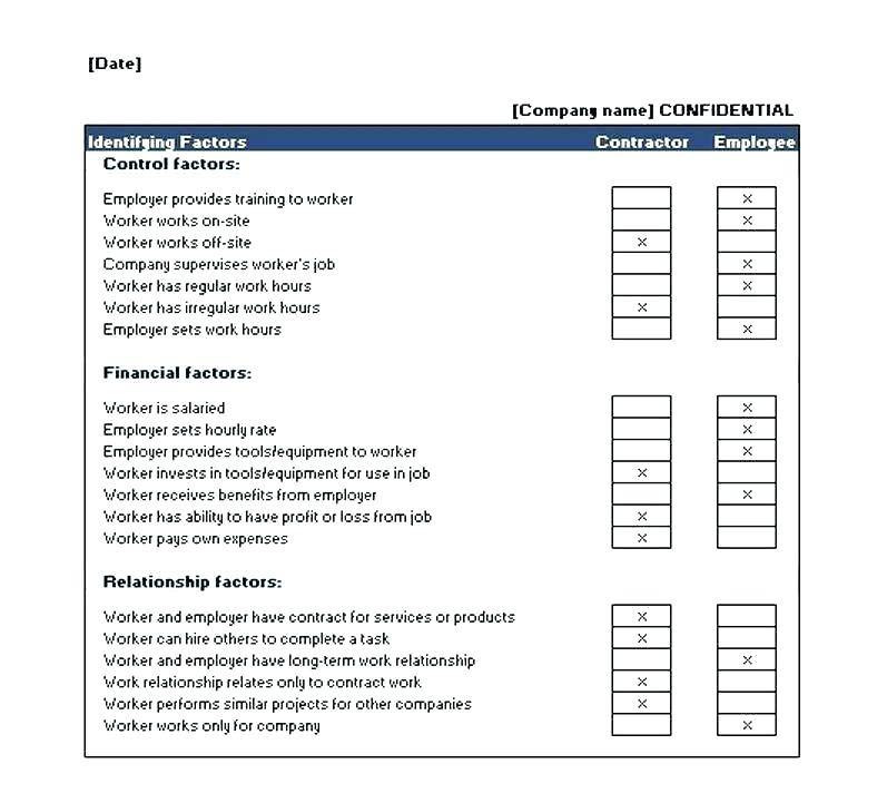 New Hire Orientation Checklist Form