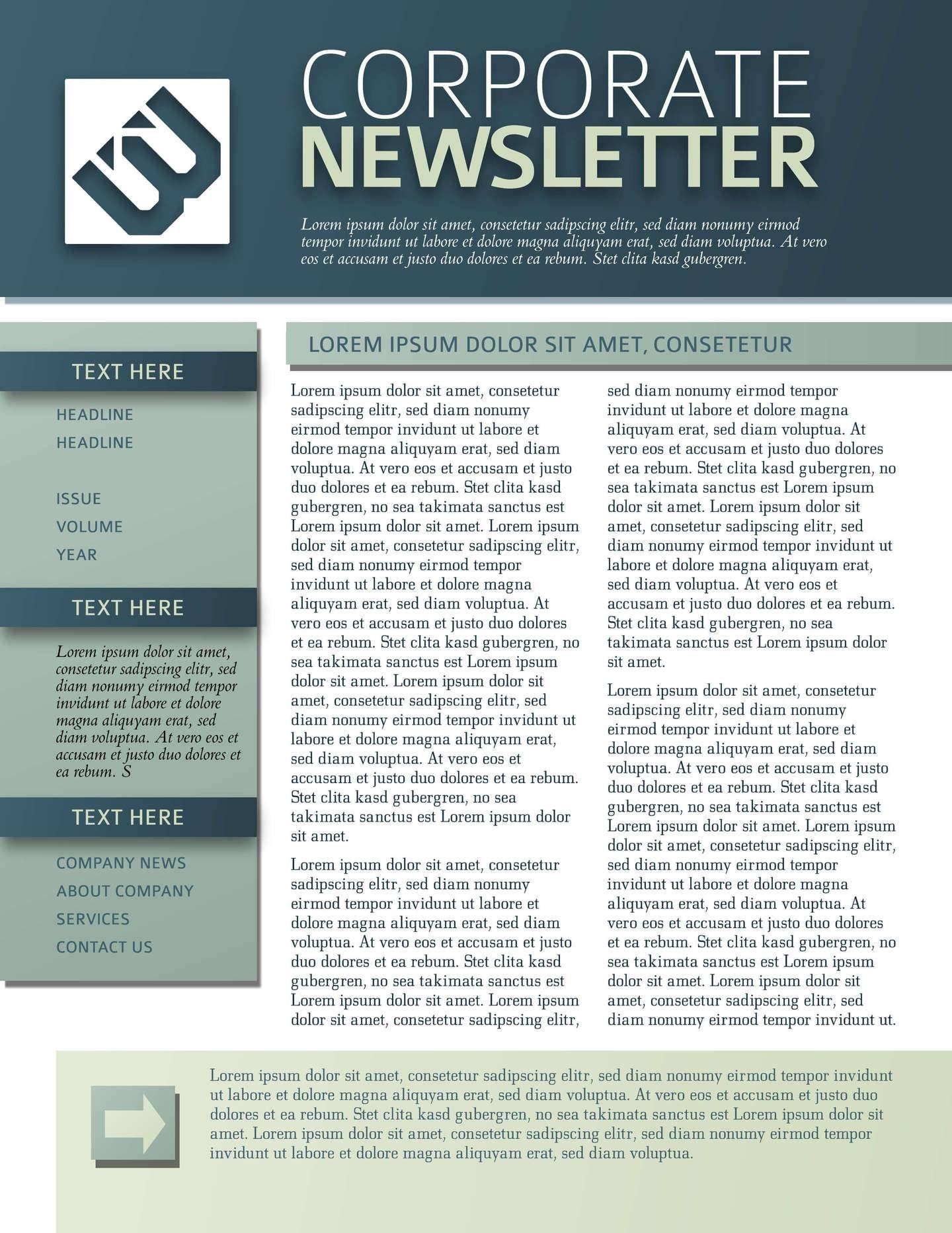 Newsletter Format Template Word