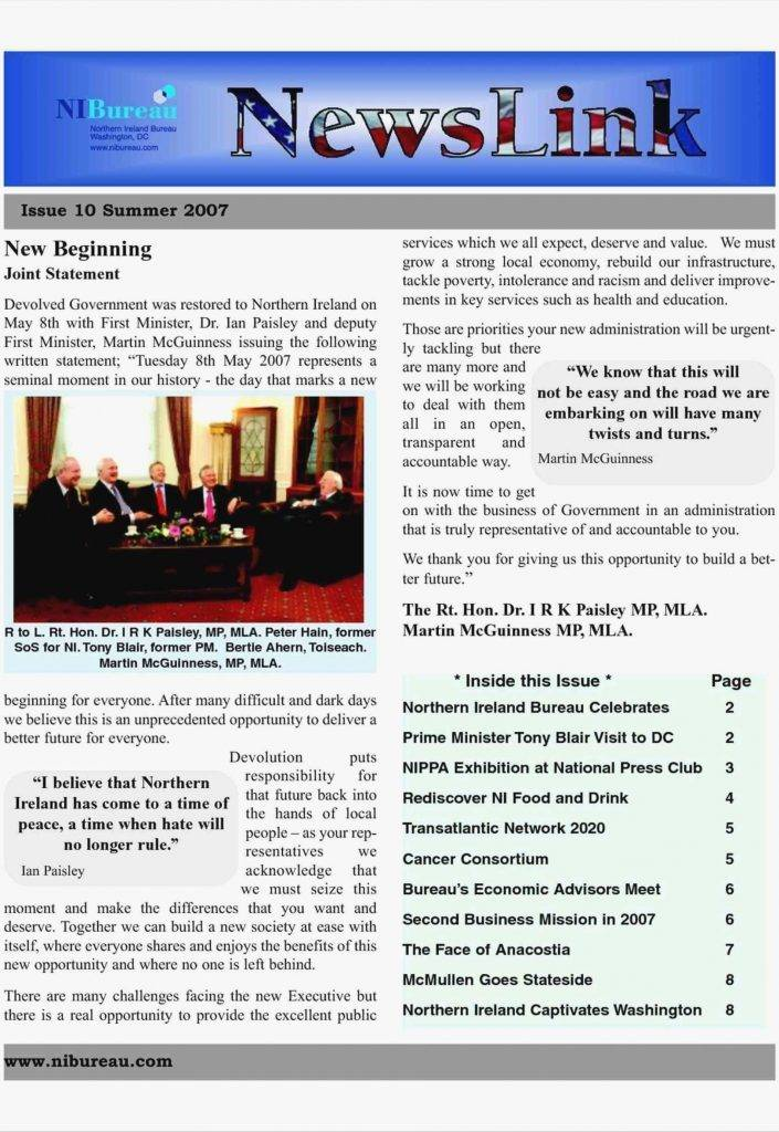 Newsletter Templates Microsoft Word Free Download