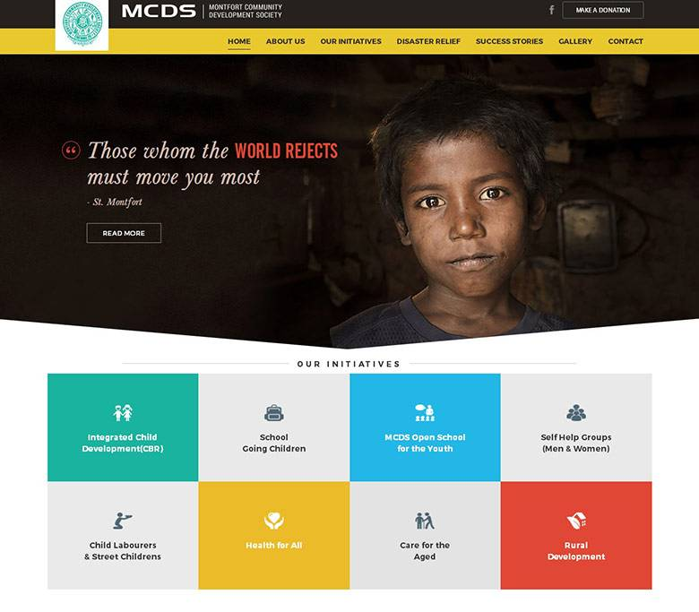 Ngo Website Design Templates
