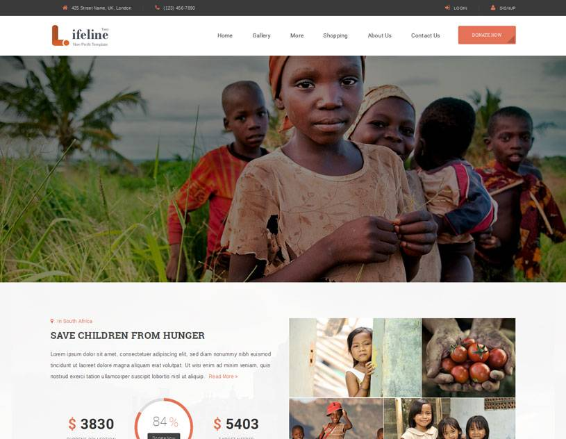 Ngo Website Template In India
