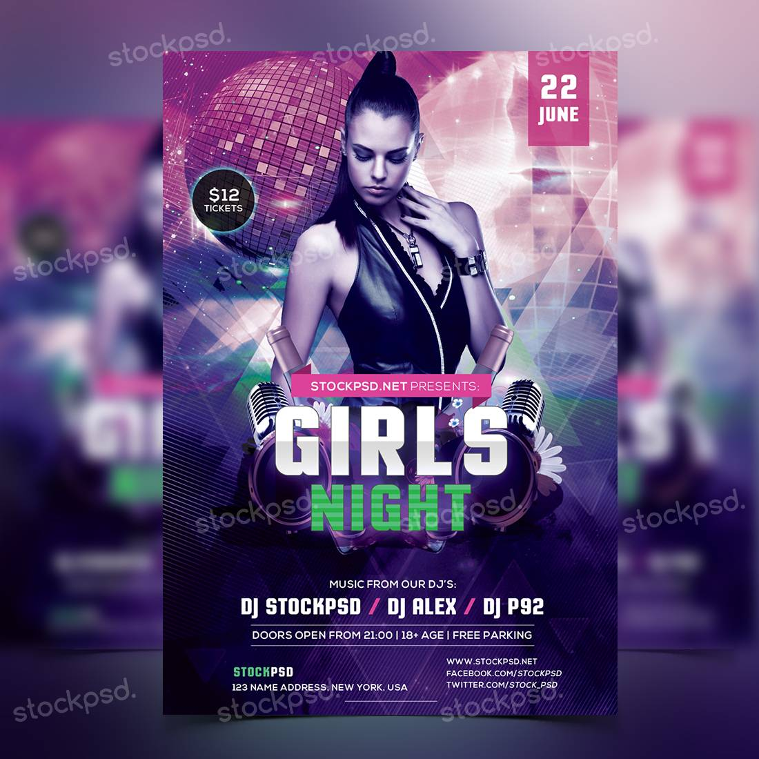 Nightclub Flyer Templates Free