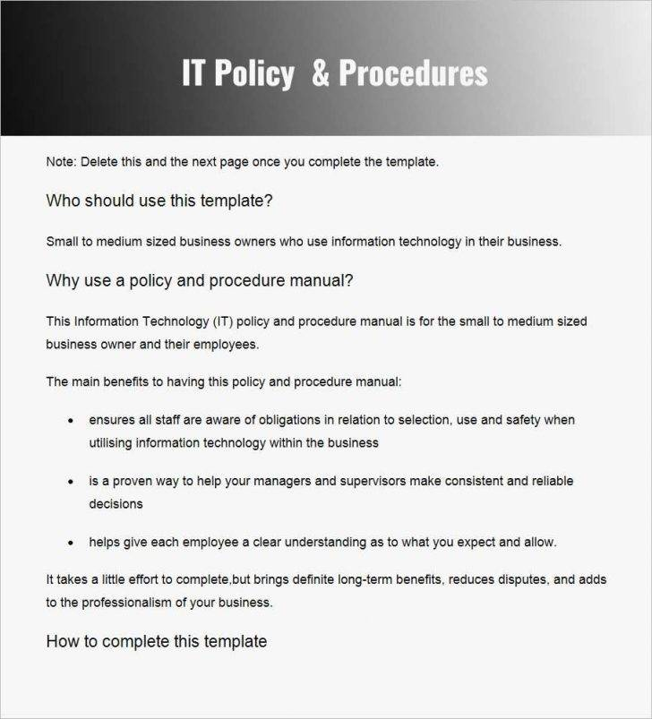 Nist Network Security Policy Template