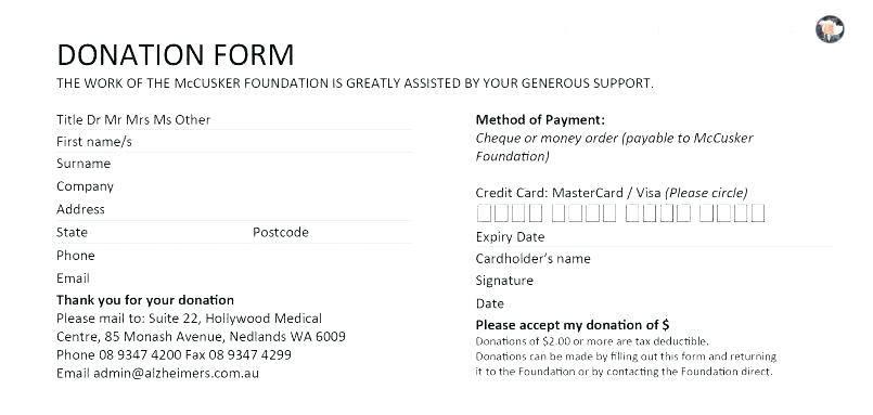 Non Profit Donation Agreement Template