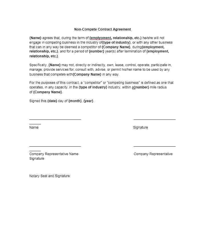 Non Solicitation Agreement Between Two Companies Template
