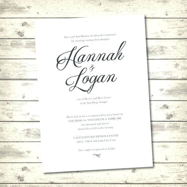 Non Traditional Wedding Program Templates