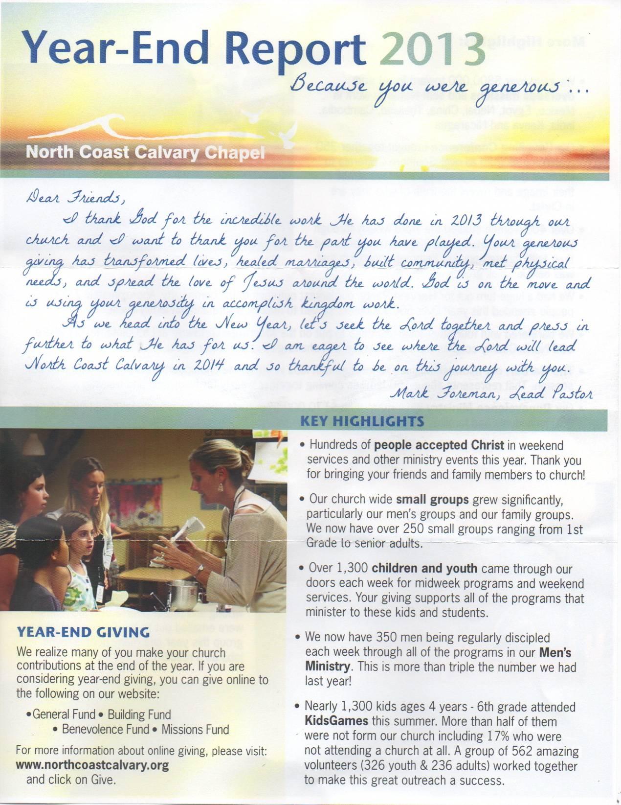 Nonprofit Annual Report Samples