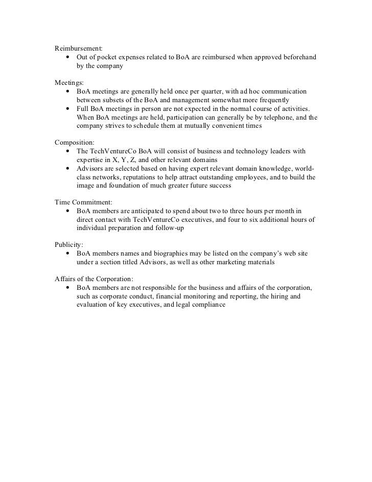 Nonprofit Committee Charter Template