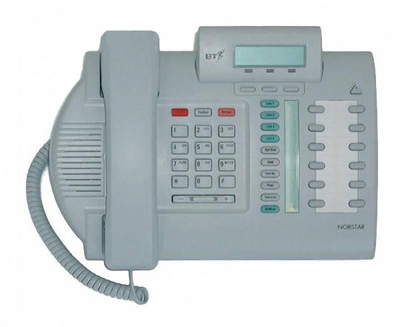 Nortel T7316e Phone Label Template