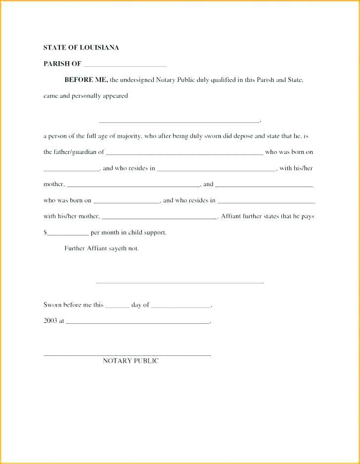 Notary Public Template Tennessee