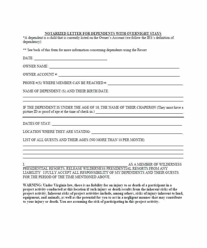 Notary Statements Templates