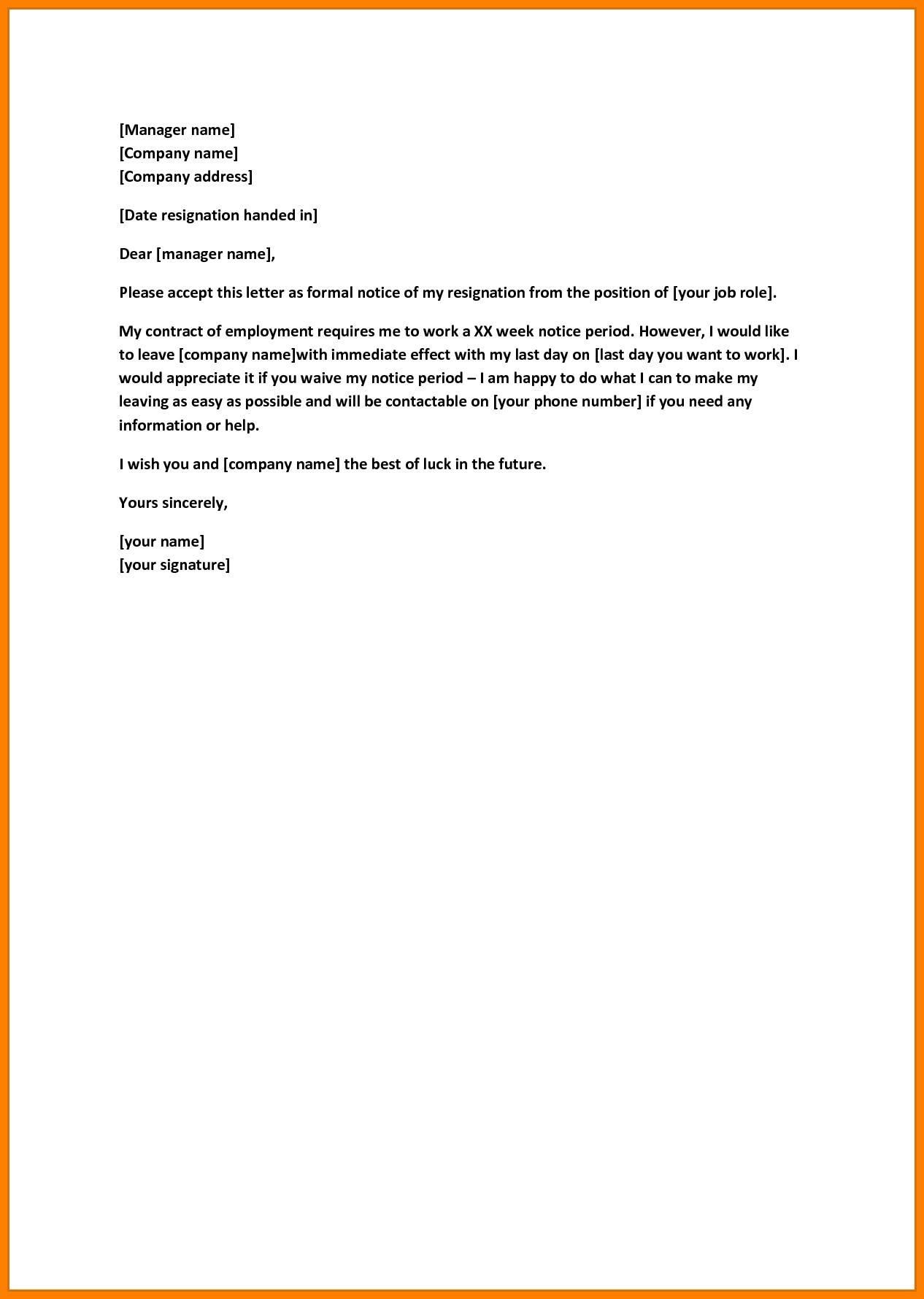 Notice To Quit Template Job