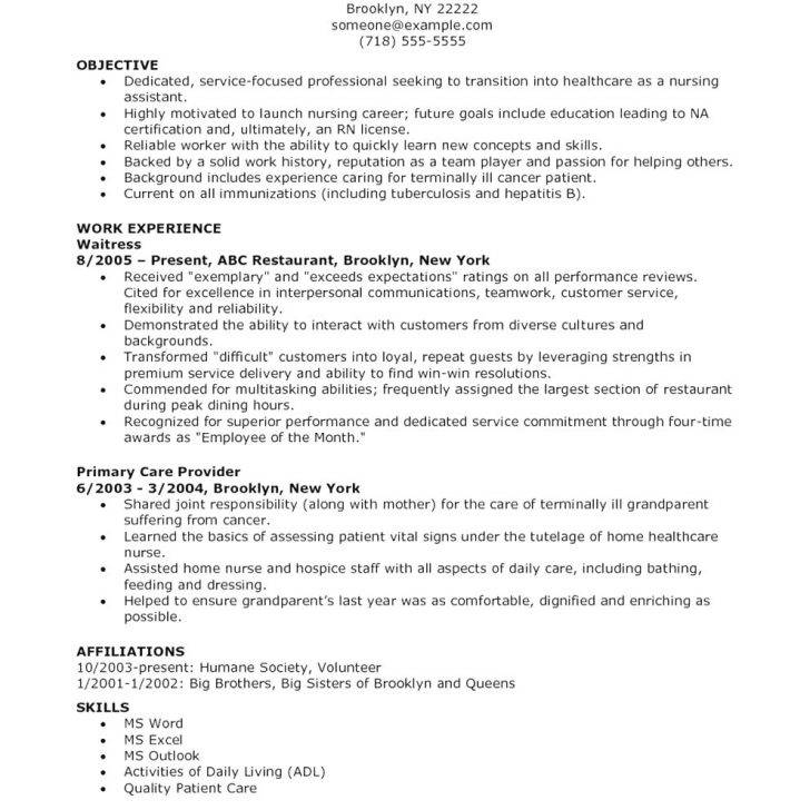 Nurse Resume Templates Microsoft Word