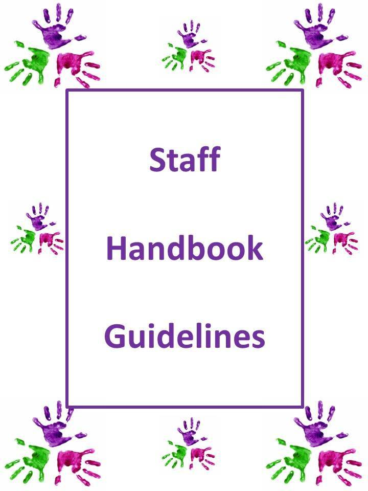 Nursery Staff Handbook Template