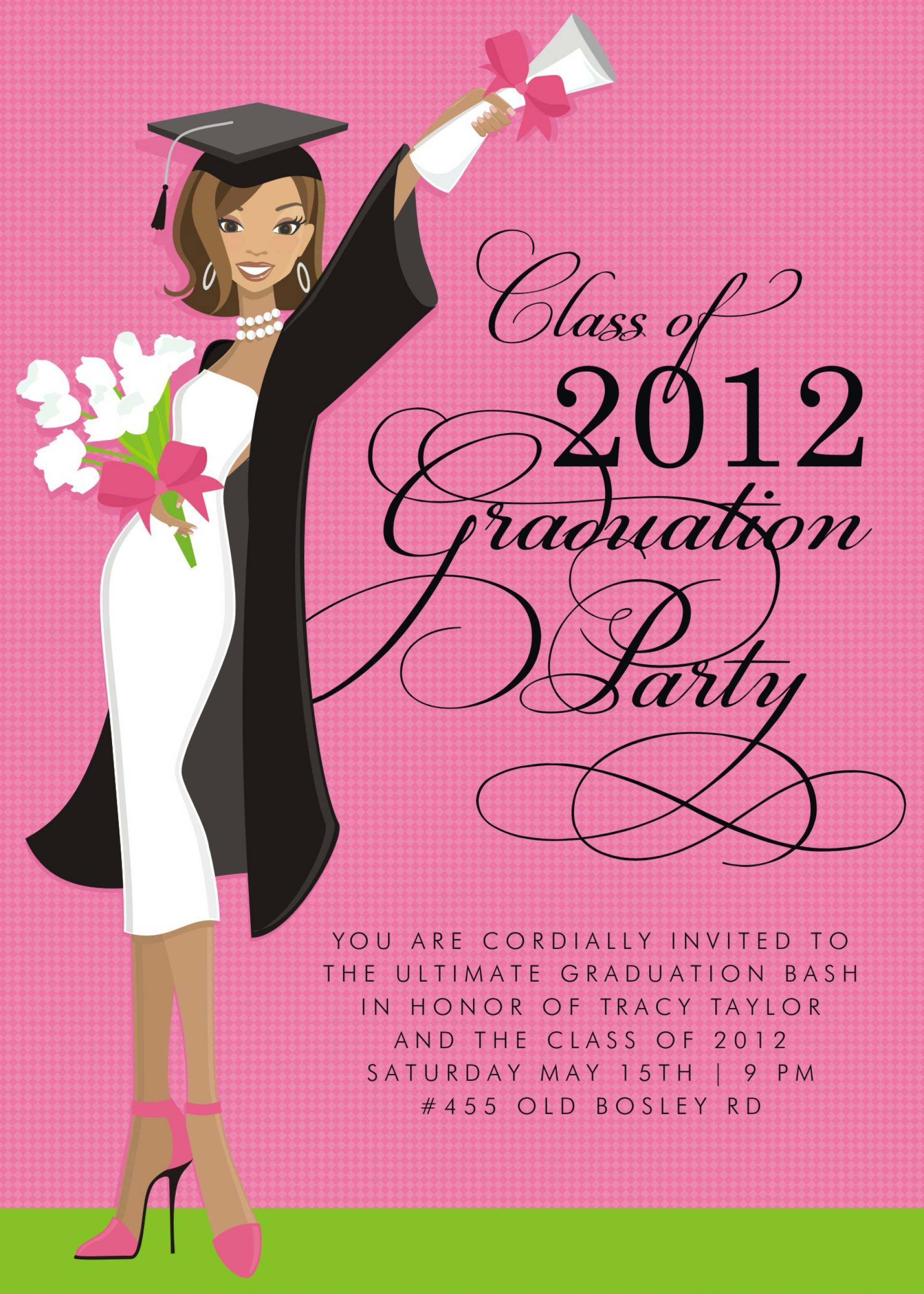 Nursing Graduation Party Invitations Templates