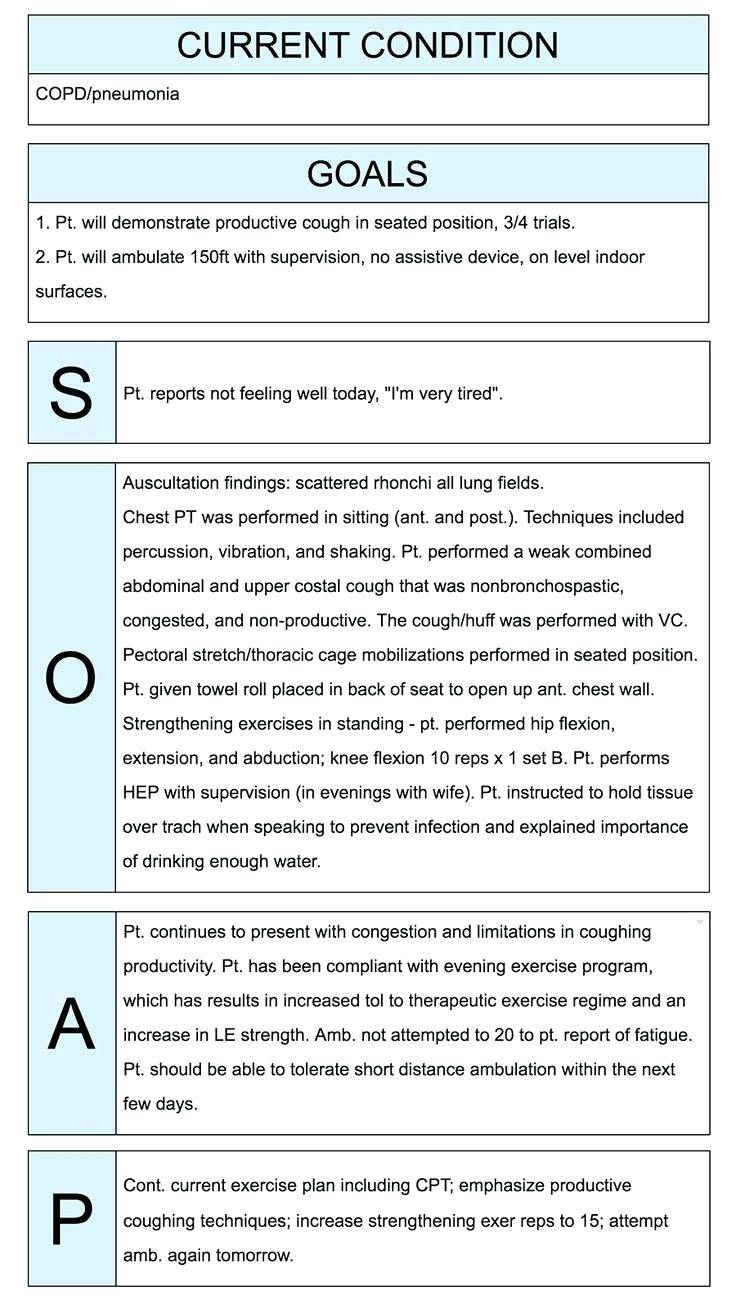 Nursing Progress Notes Example Australia