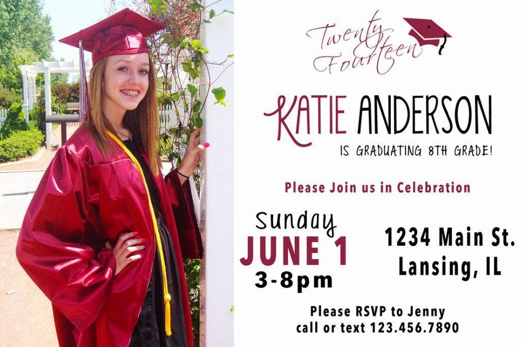 Nursing School Graduation Invitation Templates