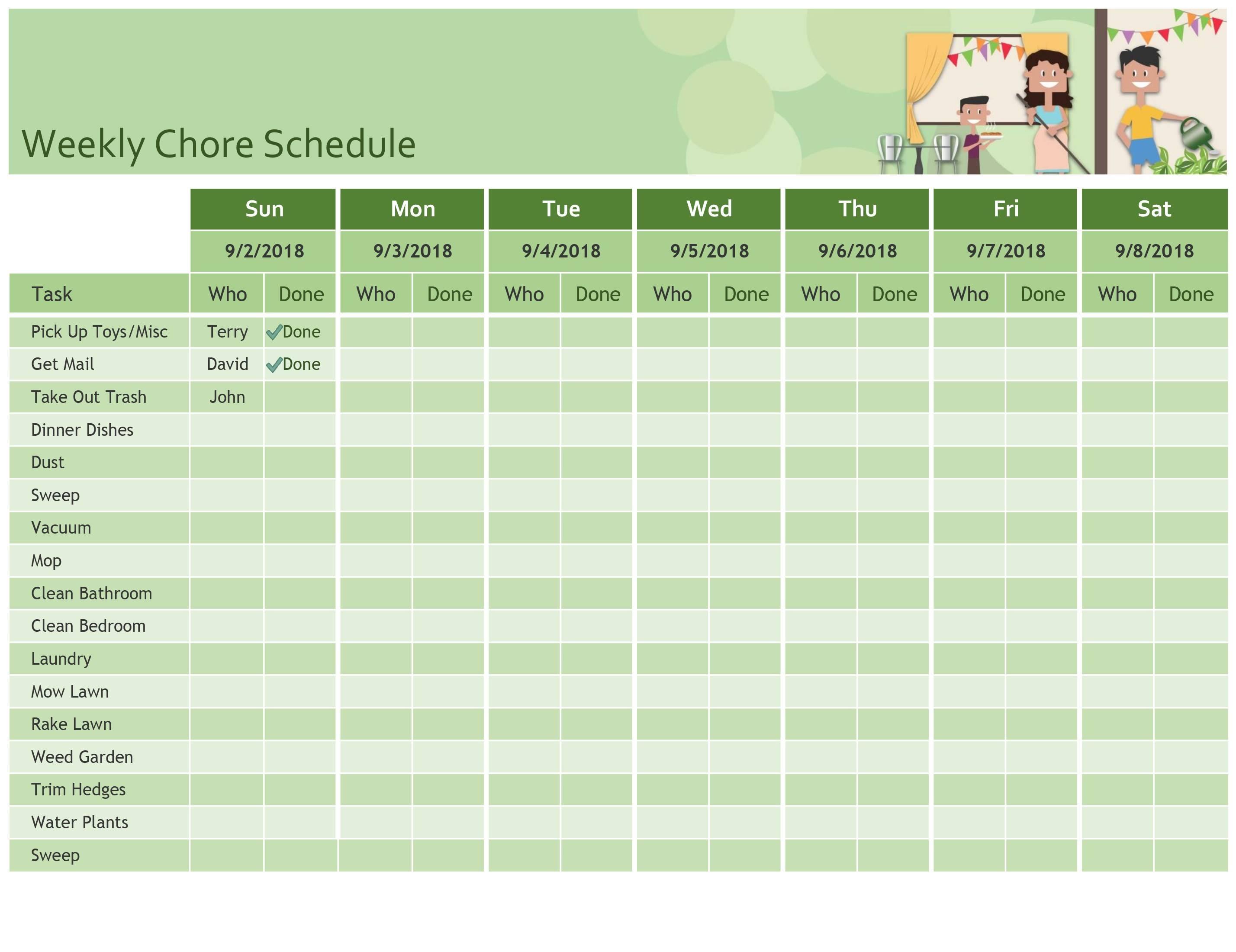 Nursing Shift Schedule Template