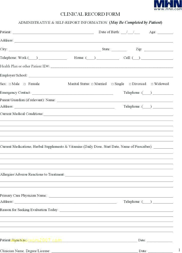 Occupational Therapy Daily Notes Template