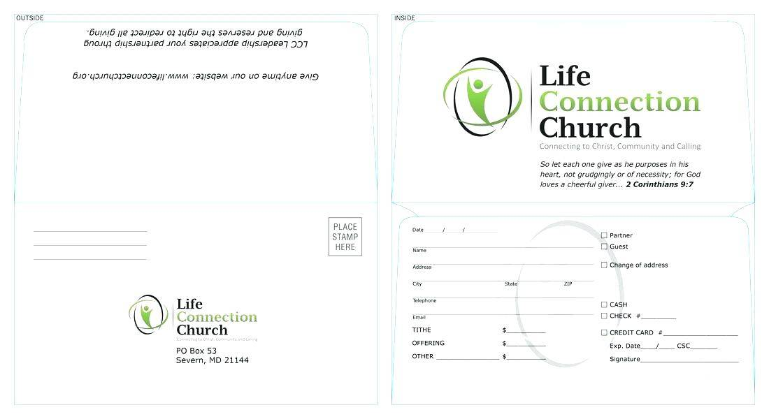 Offering Envelope Template Download
