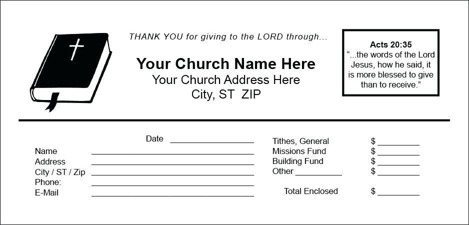 Offering Envelope Templates