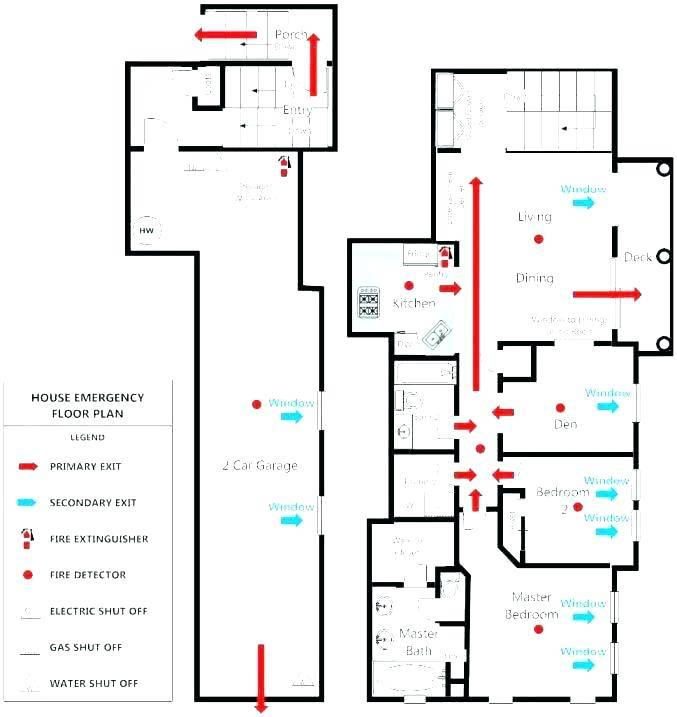 Office Evacuation Plan Example