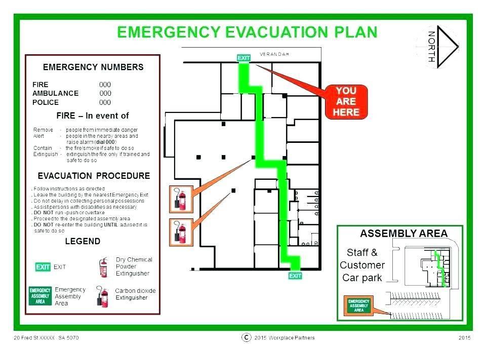 Office Fire Evacuation Plan Template