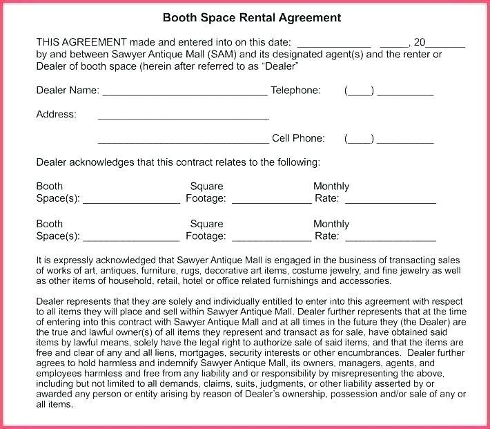 Office Rent Contract Template