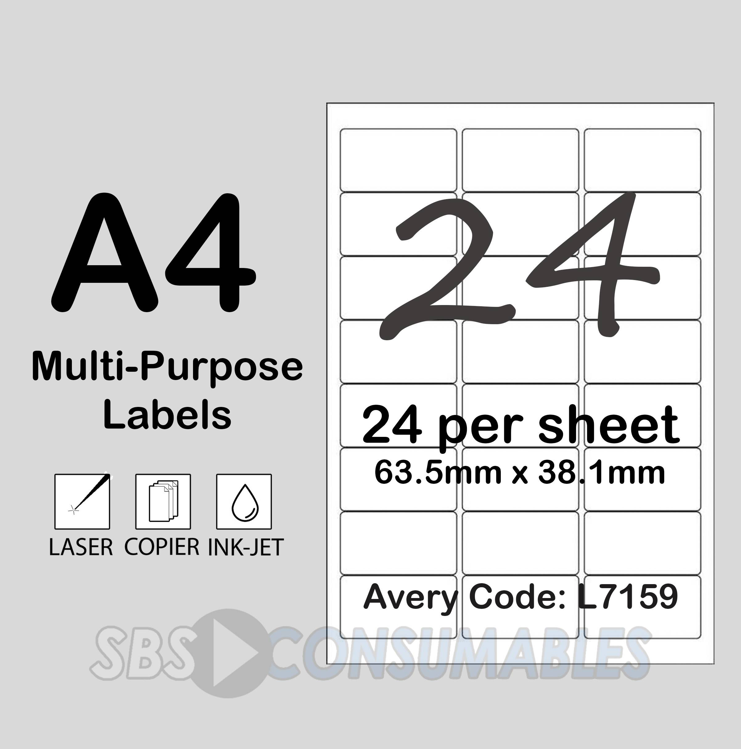 Officemax Laser Labels Template