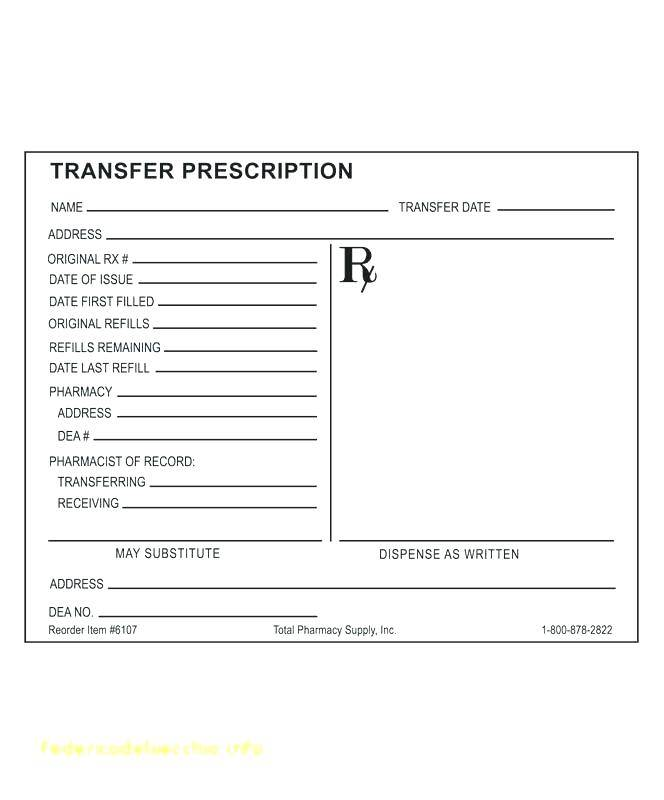 Old Medicine Bottle Label Template