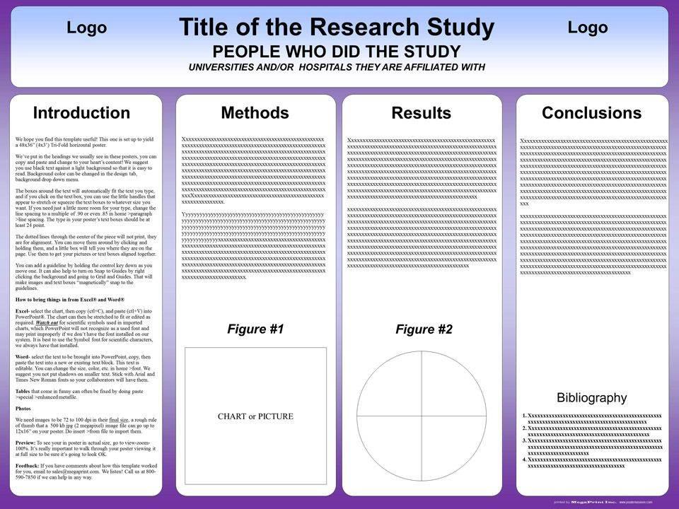Online Scientific Poster Templates