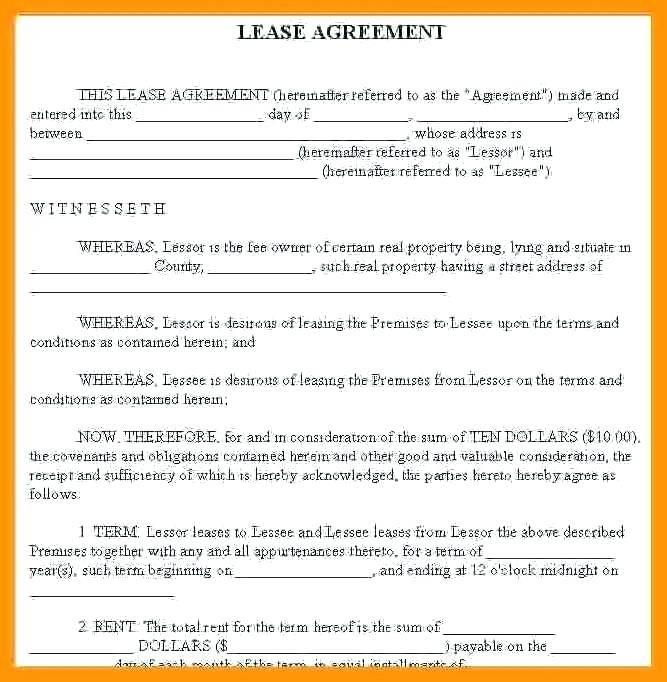 Ontario Landlord Rental Agreement Forms