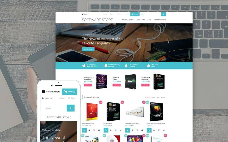 Opencart Premium Themes Free Download