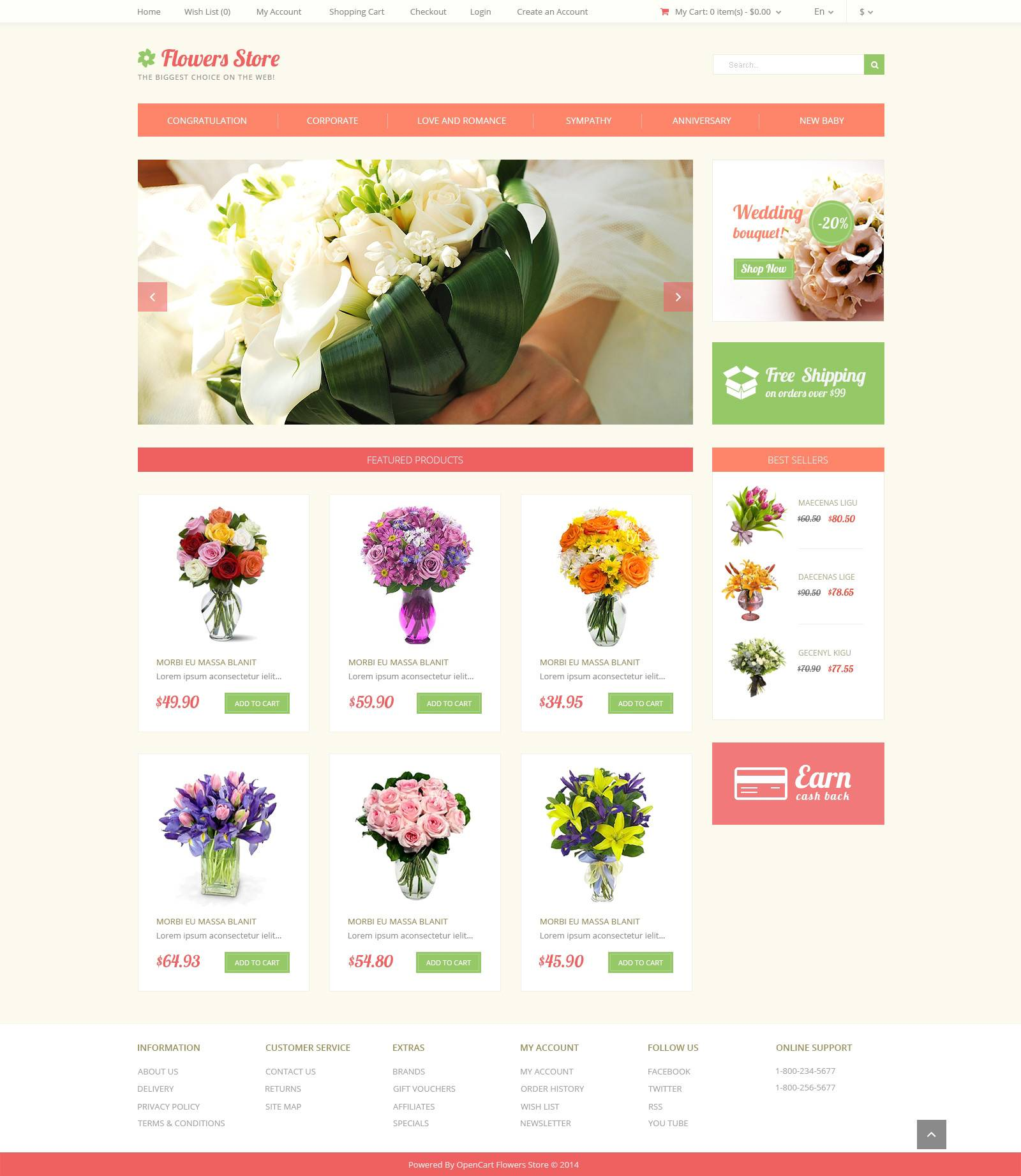Opencart Website Templates Free Download