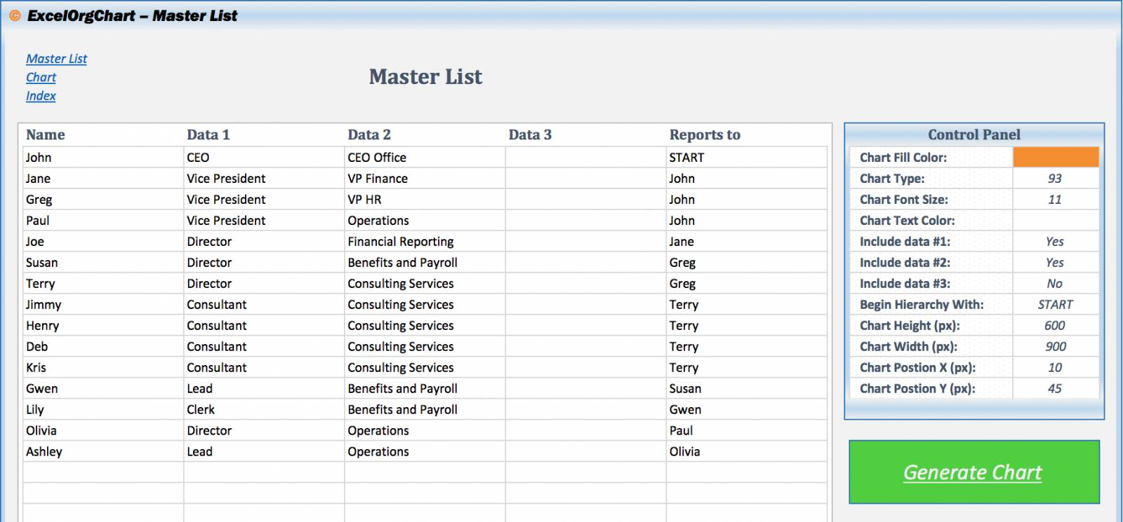 Org Chart Template Powerpoint 2013