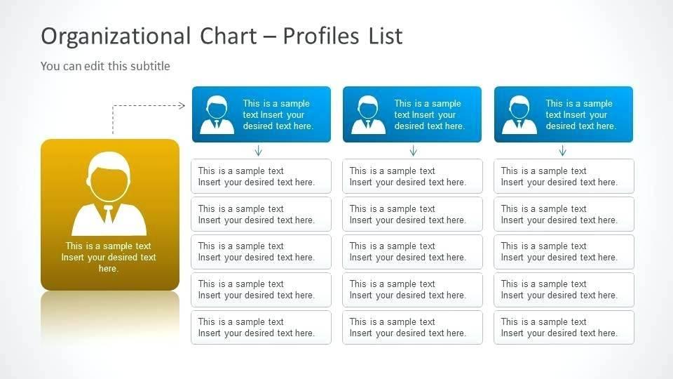 Org Chart Template Powerpoint 2016