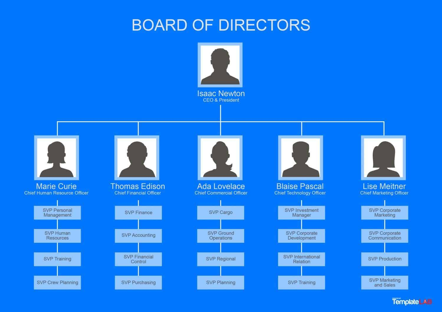 Organisational Chart Template Microsoft
