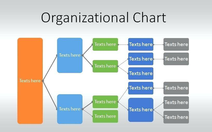Organisational Structure Template Powerpoint Free
