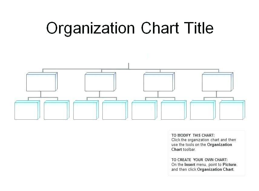 Organization Chart Template Word Doc