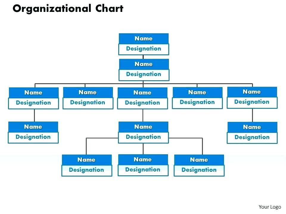 Organizational Chart Template With Pictures