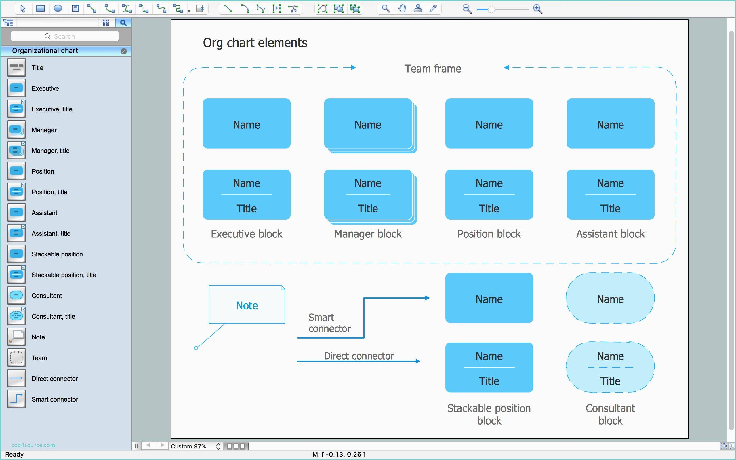 Organizational Chart Template Word Download Free